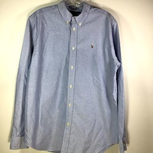 Ralph Lauren Blue Button Down size 20